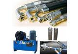 """Macchina di piegatura del tubo flessibile idraulico ad alta pressione per """" tubo flessibile 3"""