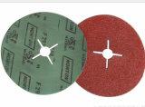 Disco abrasivo de Flber do zircónio para o aço resistente ao calor