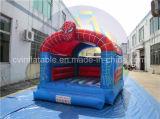 Bouncer gonfiabile poco costoso dello Spiderman, affitto gonfiabile del Bouncer del ponticello