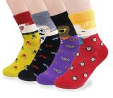 Изготовленный на заказ модный носок шаржа в различных конструкциях и размерах