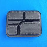 Ampolla formada vacío del rectángulo que empaqueta el rectángulo de almuerzo plástico disponible