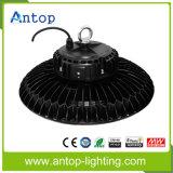 Iluminación industrial del UFO LED del poder más elevado de la alta luz redonda LED de la bahía