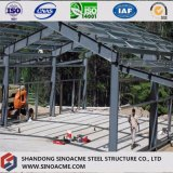 Bâti préfabriqué en métal de construction d'entrepôt
