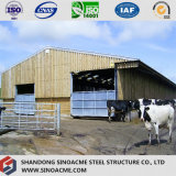Sinoacmeは軽い鉄骨構造の牛舎を組立て式に作った