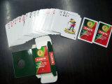 Cartes de jeu de papier promotionnelles de tisonnier pour le vin