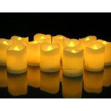 Bougie LED décorative pour théière pour changer la couleur de l'anniversaire