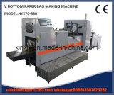 Bolsa de papel inferior del control de motor servo del mecanismo impulsor del inversor V de alta velocidad que hace la máquina