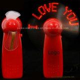 Горячий продавая напечатанный вентилятор подарка СИД промотирования миниый с логосом (3509)
