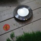 Indicatore luminoso sotterraneo solare del giardino del IP 68 LED