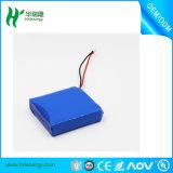 3.7V OEM de bienvenue de batterie de polymère de lithium de la batterie Li-ion Cell/3.7V avec la taille différente
