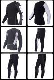 Compressão Pele Fitness Calças de corrida de ciclismo respirável Vestuário de corrida