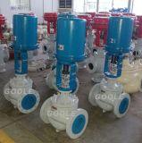 Электрическим приводом земного шара тип клапана регулирования давления (ZDLP)