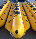 Barca di banana gonfiabile dell'acqua, giocattoli gonfiabili giganti dell'acqua