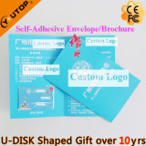 De hete Aandrijving van de Flits van de Creditcard USB van de Gift van het Embleem van de Douane (Yt-3101)