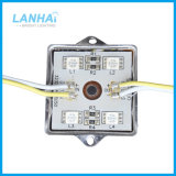 Indicatore luminoso del contrassegno del modulo LED delle coperture 5050 SMD del metallo del ferro di DC12V