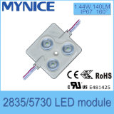 Módulo al aire libre de la iluminación del módulo 4LED SMD2835/Module 140lm IP66 LED de la alta calidad LED