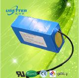18650 paquete de la batería de litio de 12V 124.8ah para la potencia del E-Almacenaje