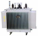Transformateur électrique immergé dans l'huile de constructeur de transformateur d'alimentation