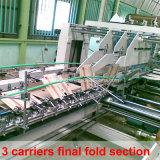 Travar a máquina ondulada inferior de Gluer do dobrador da caixa (SCM-1800C)