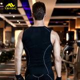 Parti superiori di serbatoio Sleeveless attive delle calzamaglia di forma fisica della camicia degli uomini