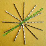 Reforço de fibras de aço de Concreto, Propriedades de material de construção