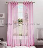 Fester blosser Rod-Taschen-Panel-Fenster-Vorhang