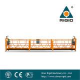Plate-forme de fonctionnement suspendue par nettoyage en acier chaud de façade de la galvanisation Zlp800