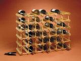 Crémaillère de vin d'étalage d'entreposage en bouteilles en bois de pin 40