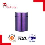 vasi di plastica viola/bottiglie di figura cilindrica dell'HDPE 16oz