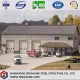 Stahlrahmen-Gebäude für zweistöckiges Lager mit Büro und Kabinendach