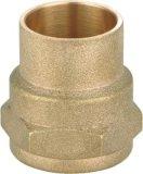 Bons encaixes de tubulação de bronze retos de Quanlity (YD-6011)