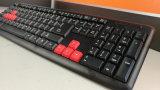 Computer zerteilt USB-Spiel-Tastatur mit 8 bunten Tasten