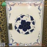 Blauer und weißer Porzellan-Farbanstrich-HolzSideboard