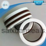 강화된 테플론 PTFE v 모양 패킹 인발이 찍힌 반지 Formechanical 물개 펌프