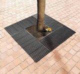FRP/GRP Grating van de Boom van de Decoratie van de Wacht van de boom/de Bescherming van de Boom