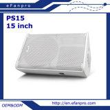 """15 인치 단계 15 """" 수동적인 내각 상자 지면 모니터 스피커 (PS15 - 재치)"""