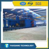 Máquina de sopro para a remoção de oxidação de aço de Structurs