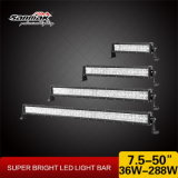 Pila doble Popular 50 pulgadas 288W Offroad Barra de luz LED