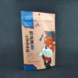 Customzied di alluminio si leva in piedi in su il sacchetto di plastica per il pacchetto dell'alimento con la chiusura lampo