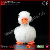 Canard blanc mou de peluche d'ASTM de jouet réaliste de peluche