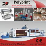 スタッキングのプラスチックThermoforming機械傾き型