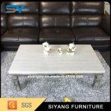 Meubles de salon Table basse en marbre et en métal