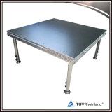 Étape en aluminium/étape de Portable de matériel concert de canalisation verticale