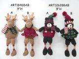 装飾の森林ギフトボタンの脚のアメリカヘラジカおよびツキノワグマ
