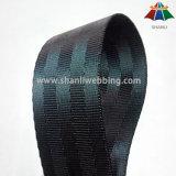 1.5 بوصة أسود بوليستر حزام مقعد شريط منسوج