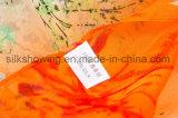 Hangzhou-Fabrik kundenspezifischer Digital gedruckter Silk Chiffon- Schal für Damen