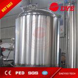 Réservoir lumineux de bière revêtue de brasserie d'acier inoxydable