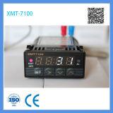 Xmt 7100 Mini taille 48 * 24mm Thermostat de contrôleur de température numérique à LED rouge avec alimentation 12V