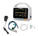Monitor paciente de sinais Hm-07 vitais (monitor ETCO2+SpO2 paciente)