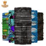 Headwear multifunzionale su ordinazione stampato sublimazione con differenti disegni